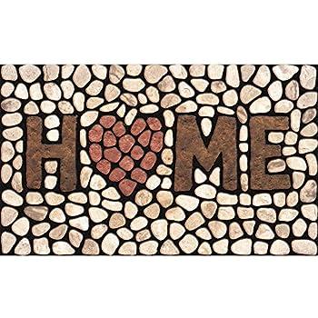 Amazon Com Masterpiece Home Stones Door Mat 18 Inch By