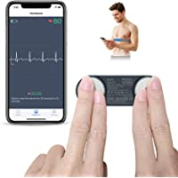 Wellue Heart Monitor, Bluetooth Heart Health Tracker Free App for iOS & Android Phone, Portable Handheld 30s - 15mins…