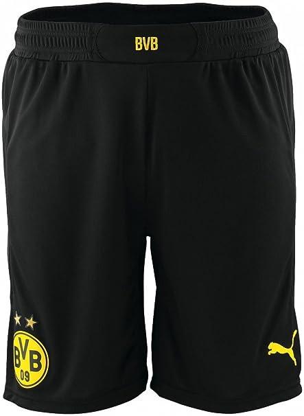 Puma BVB Shorts Promo with innersli black cyber yellow