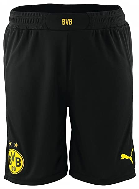 Amazon.com   PUMA Borussia Dortmund BVB Promo with innerslip Shorts Men  Pants 745823 06 72474f14b4280