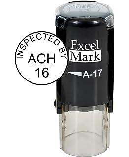 amazon com xstamper n30 pre inked custom stamp 3 8 round