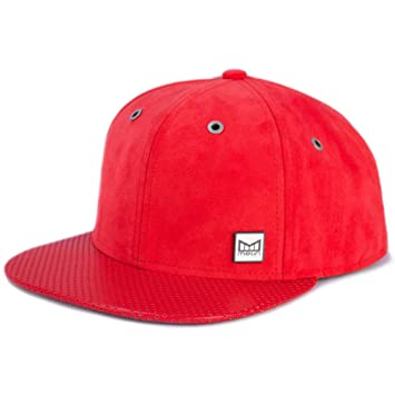 on sale 72898 71f73 Melin Brand The Affair Strapback Hat (Red) Men s Suede Leather Luxury Cap
