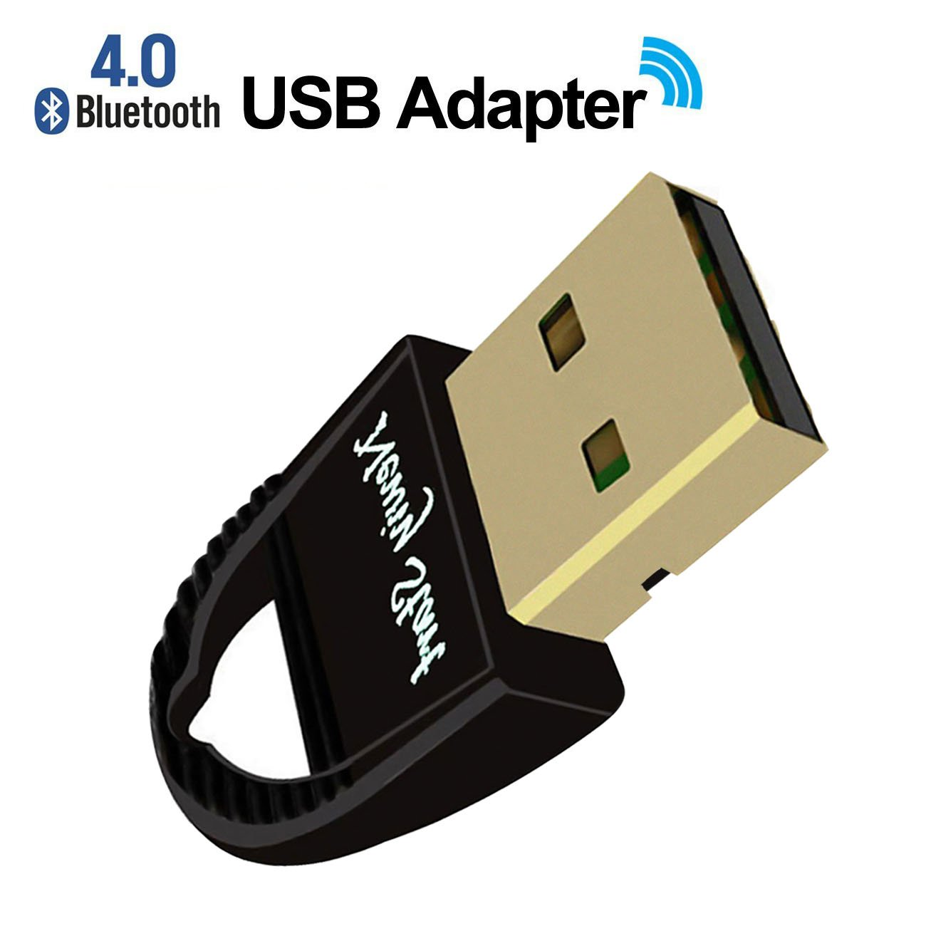 USB Bluetooth 4.0 Adapter Wireless Dongle for PC,Laptop,Speakers,Keyboard, Mouse, Headphone/Headset,Smartphones,tablets iPad,Support All Windows 10 8 7 XP vista [2 Year Warranty] by Newiy Start