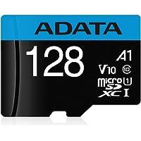 ADATA AUSDX128GUICL10A1-RA1 Memoria MicroSD A1, 128GB, Clase 10 Premier