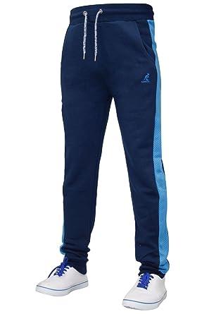 f879c7fb11 Kangol New Men's Designer New Look Slim Fit Cuffed Joggers Black ...