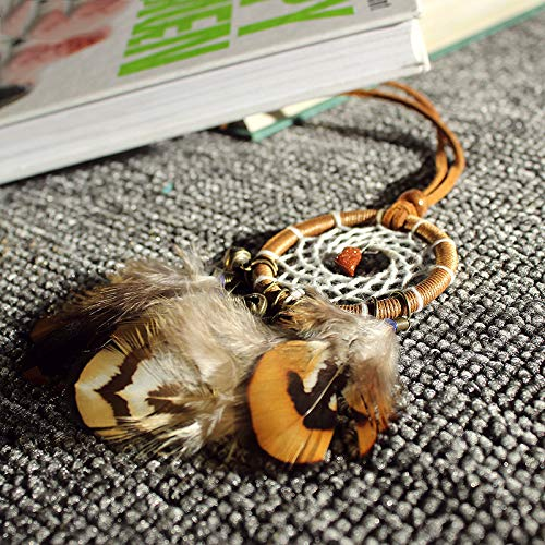 MoGist Indian Handmade Dreamcatcher Pendant Car Ornament Feather Ornament by MoGist (Image #6)