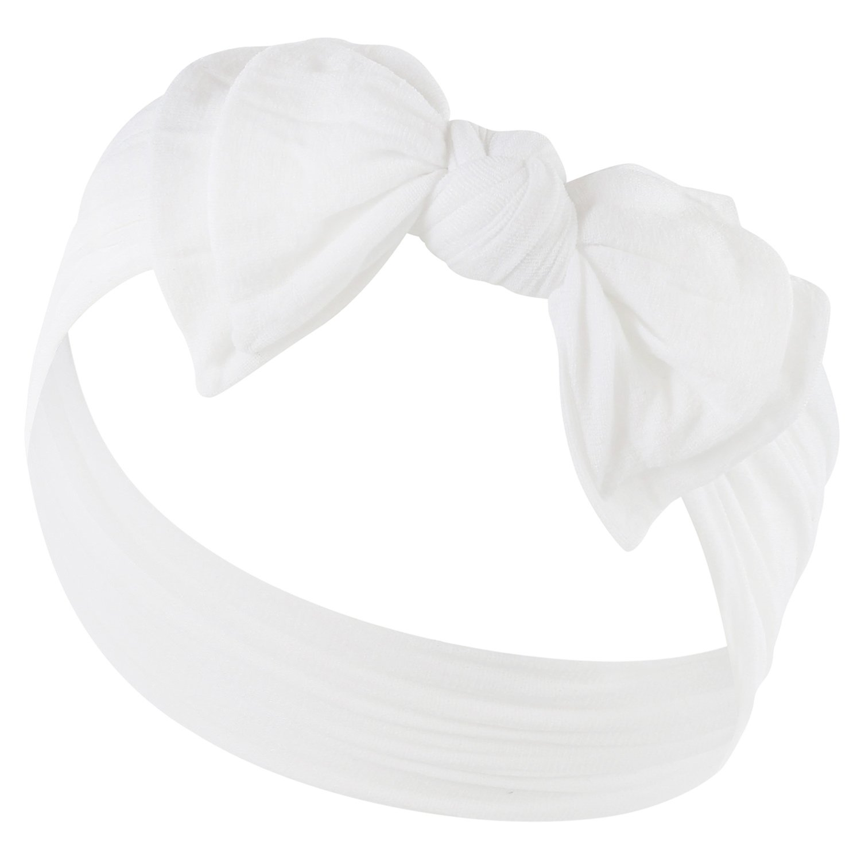 DOUBLE BOW FAVORITE BABY HEADBANDS - Baby Headband For Newborn Girls Headbands Zelda Matilda ZM-DBWNHB-HP