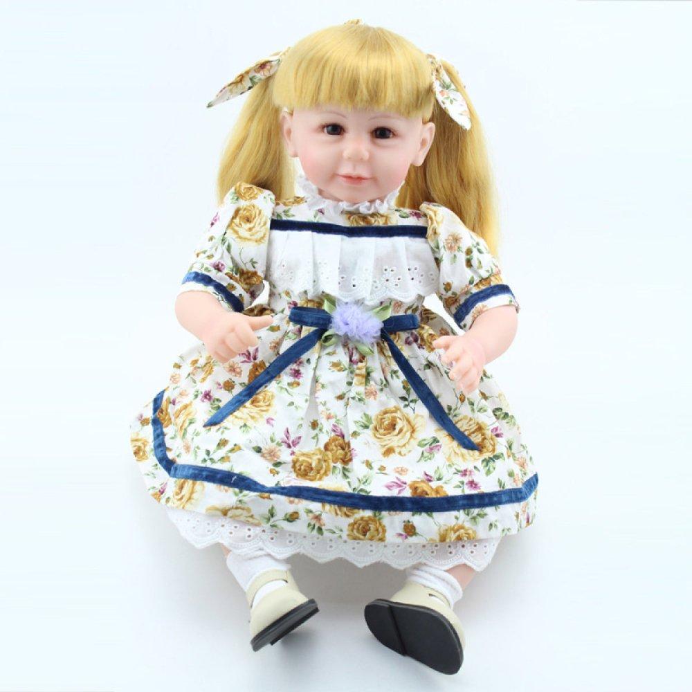 セール特価 QXMEI 22インチ 55cm 本物そっくり 22インチ リアルなリボーンベビー シリコンビニール人形 リアルなハンドメイド 赤ちゃんギフト おもちゃ 55cm B07GN6XJRB B07GN6XJRB, 二戸郡:ab1b8181 --- pmod.ru
