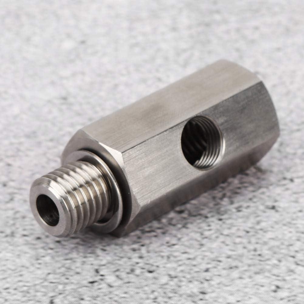 huaer Oil Pressure Sensor Adapter,M12x1.5 1//8 NPT Stainless Steel Turbo Oil Pressure Sensor Tee Adapter Car Accessories