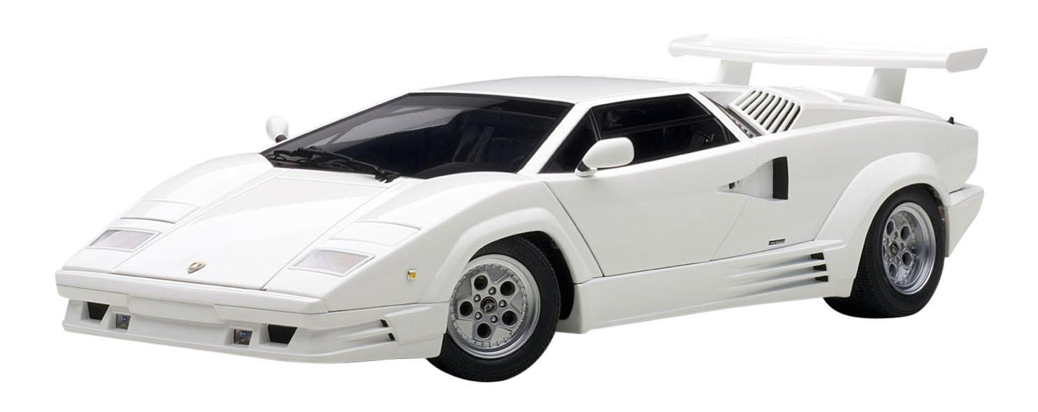 Autoart 1 18 Lamborghini Countach 25th Anniversary White Cars