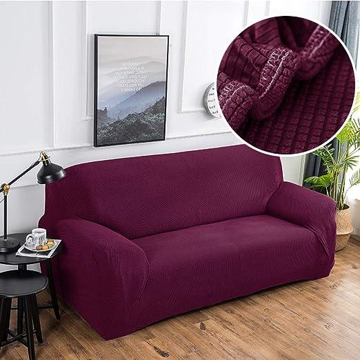Amazon.com: GX&XD Fundas de sofá elásticas gruesas para sofá ...