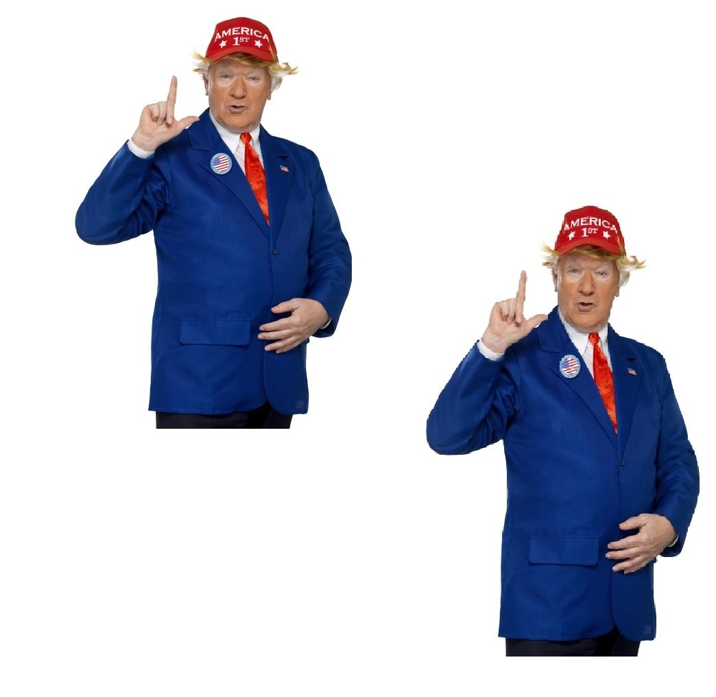 Fancy Dress Four Less Donald Politician Chaqueta para hombre ...