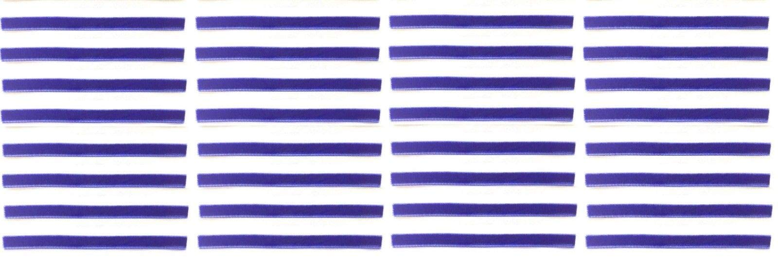Royal Blue Replacement Cleaning Strips (32-Pack) VPI Okki Nokki 3M LP Vinyl Record Album