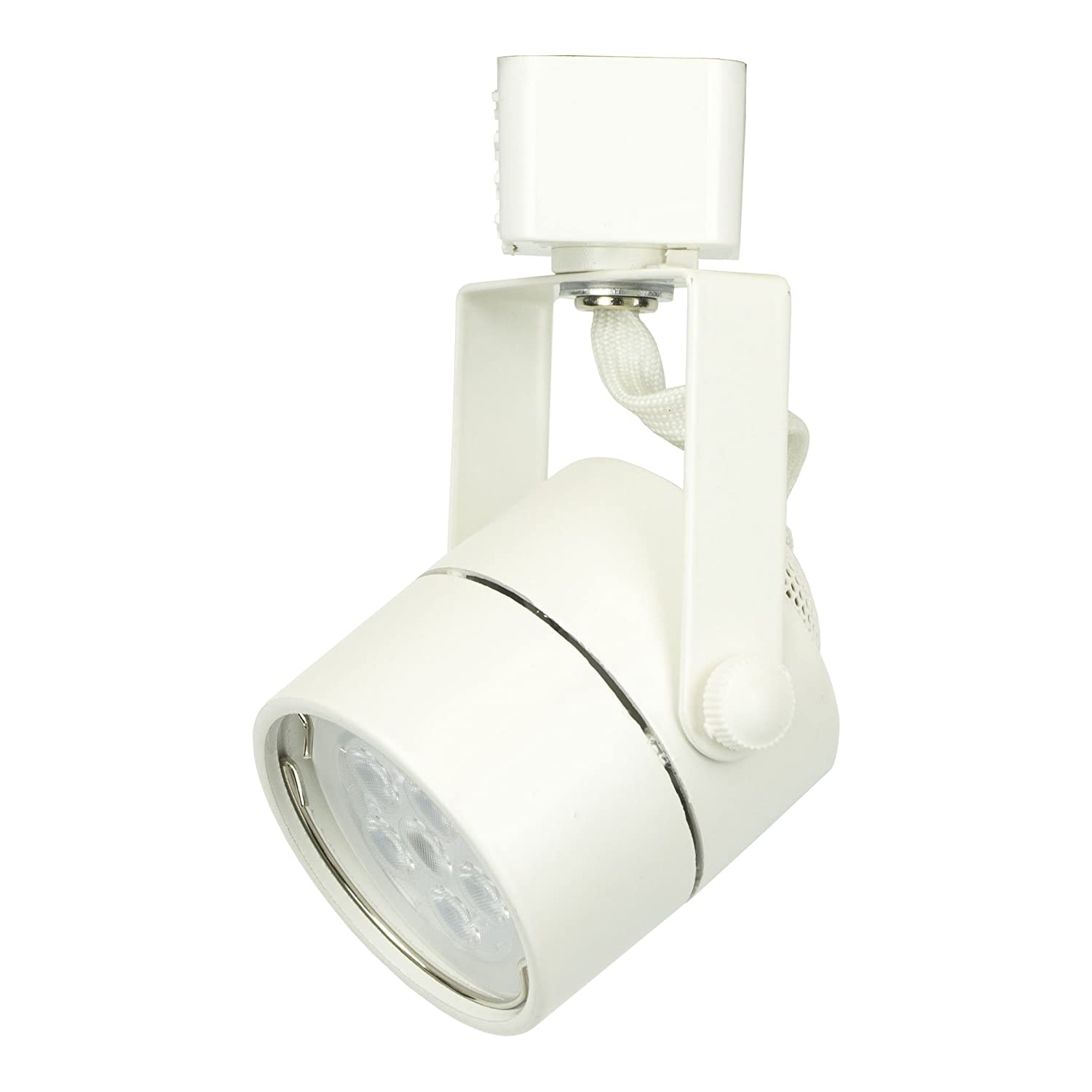 dd brand h system gu10 line voltage track lighting fixture white htc 9154 wh no bulb ambient track lighting
