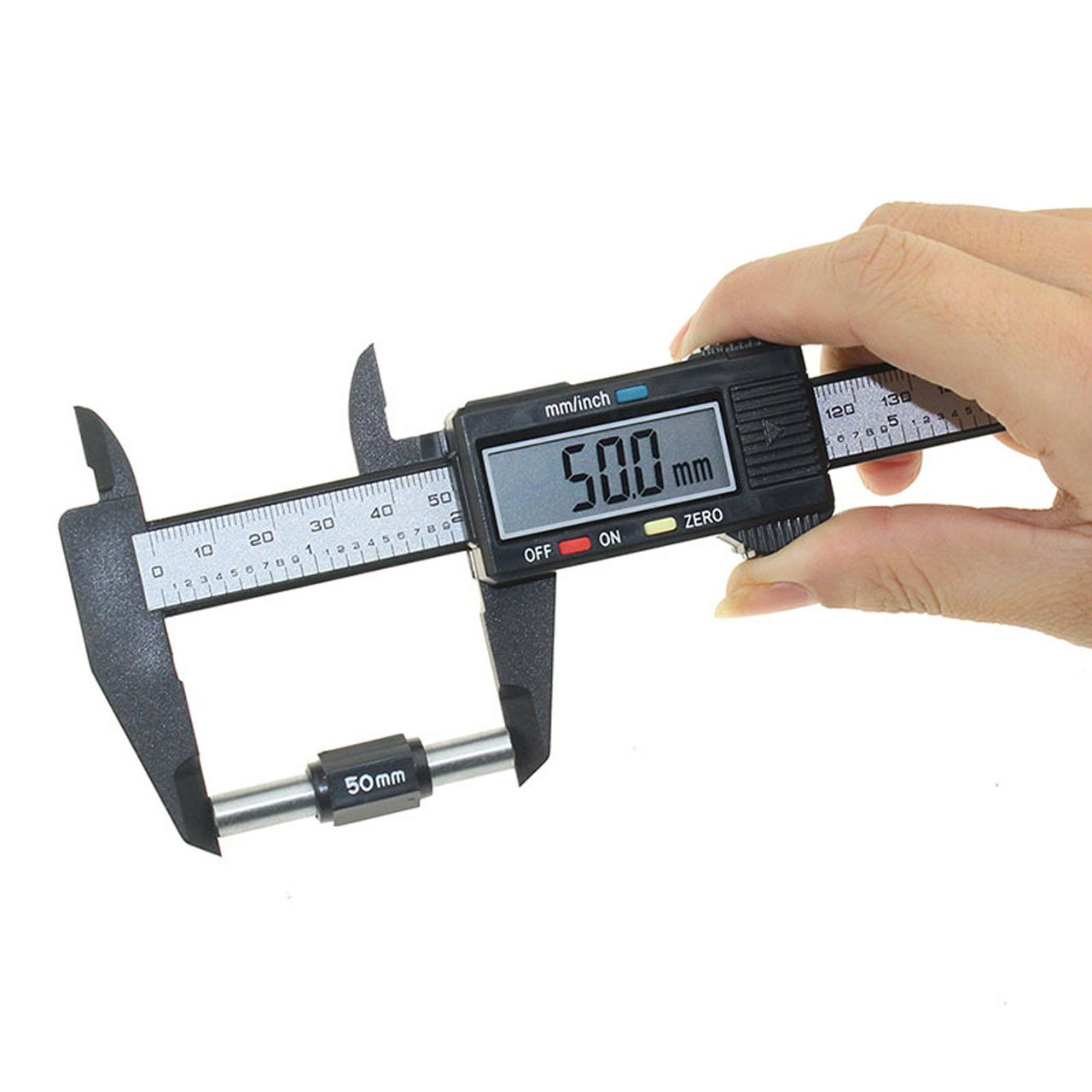 Digital Vernier Caliper, July Miracle Extra-Large LCD Screen 150mm 0-6 Inch Millimeter/Inch Conversion Gauge Measuring Tool