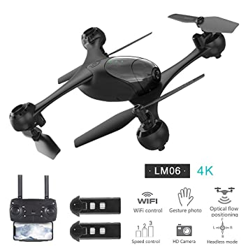 Goolsky LM06 RC Drone con Cámara 720P/1080P/4K WiFi FPV ...