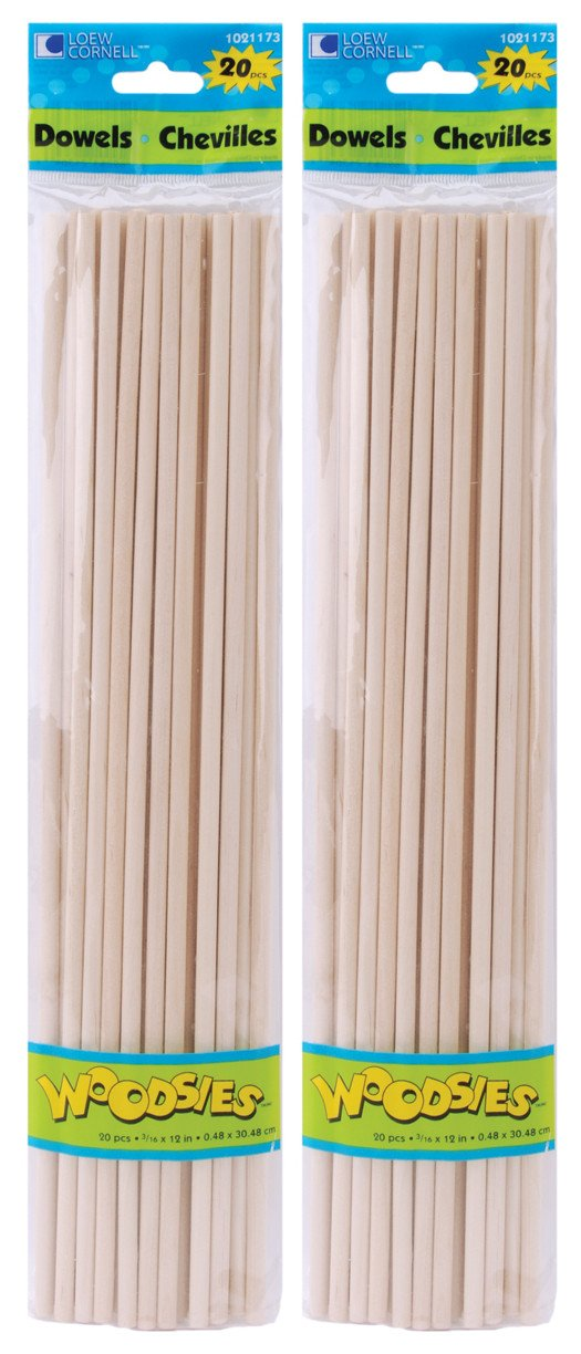 Woodsies Dowels 12