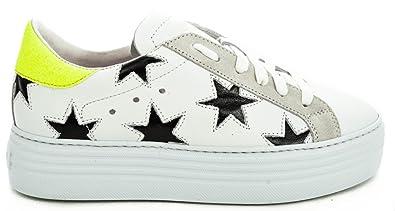 de Chaussures 39 EU Stokton Bianco Gymnastique EU Femme Blanc P5qwFd