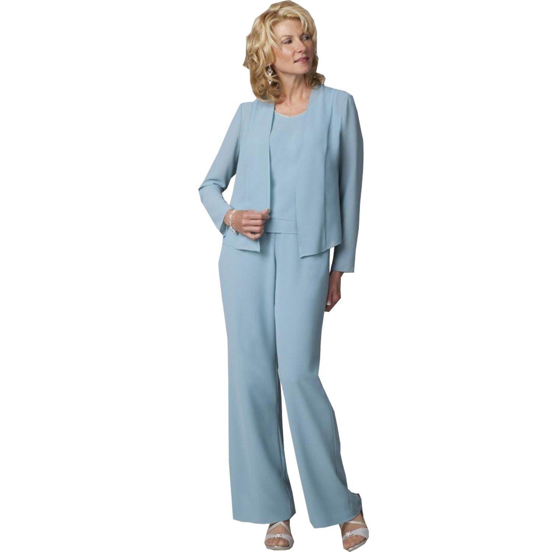 Contemporary Chiffon Pant Suit Wedding Inspiration - Wedding Dress ...