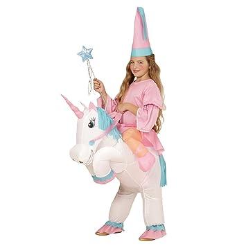Amakando Traje Caballo niño Inflable Disfraz Unicornio ...