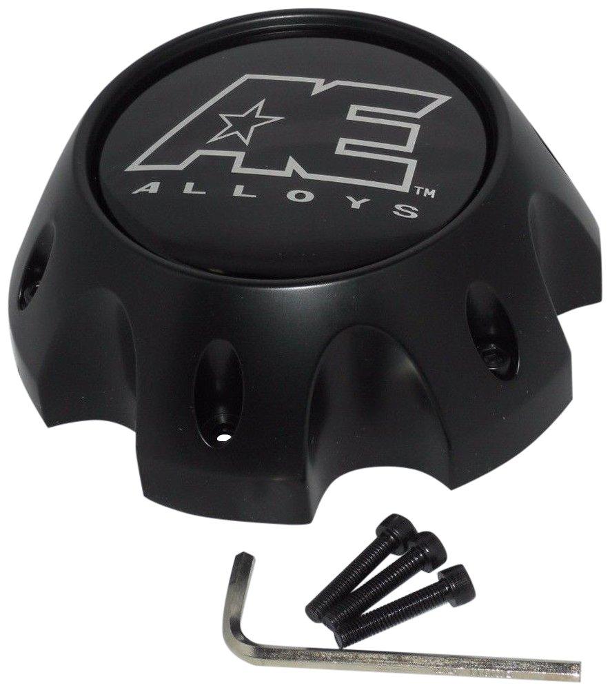 American Eagle Alloy 3312 3312-08 Flat Matte Black Wheel 6 Lug Center Cap American Eagle AE Alloys