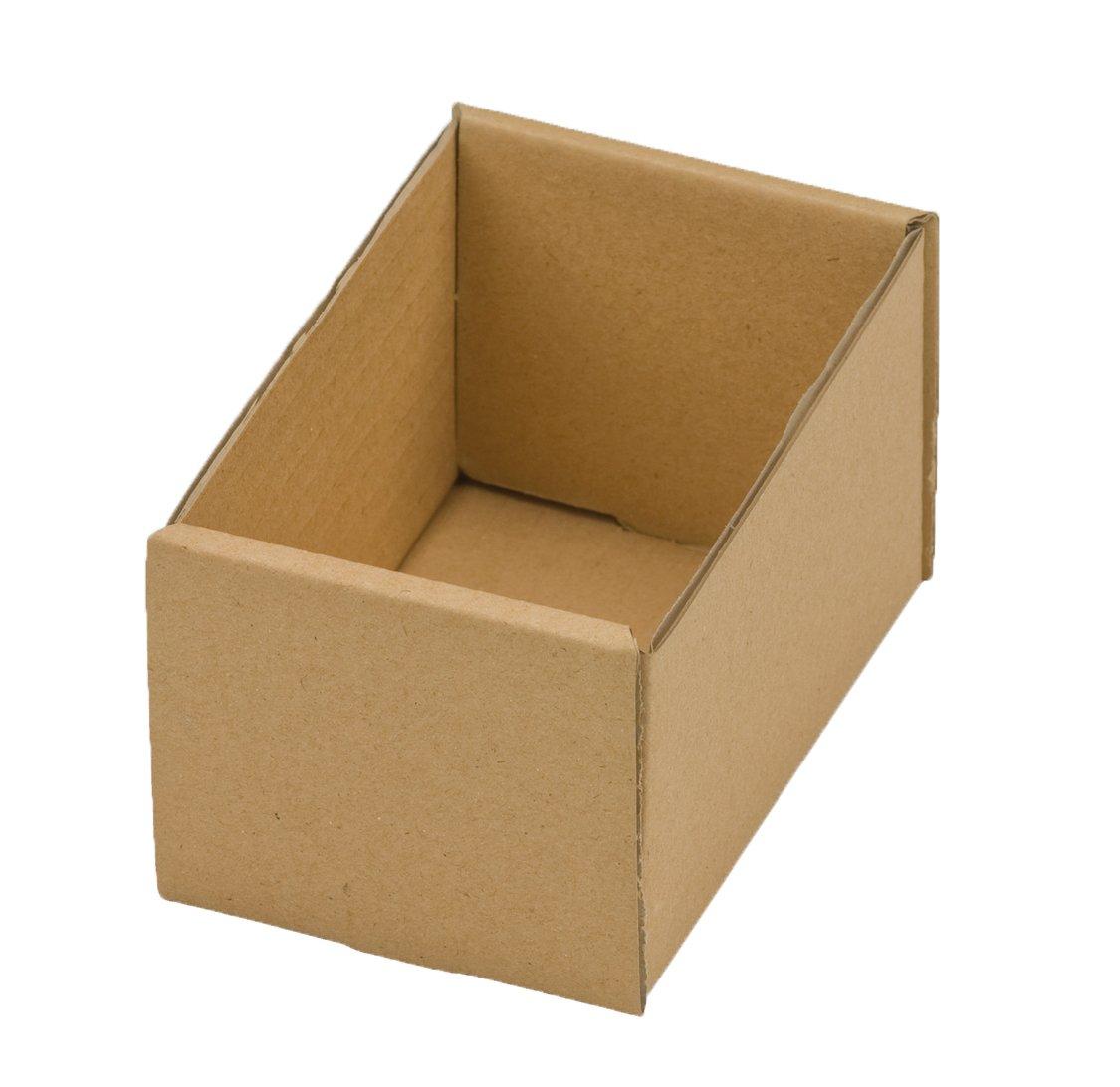 NIPS ODO 180/80-7 117356114 - Bandejas para documentos (180 x 80 x 70 mm, 20 unidades, cartón corrugado), color marrón NIPS Ordnungssysteme GmbH