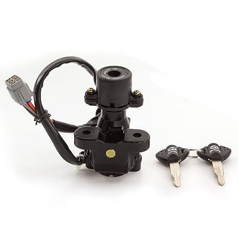 amazon com: fxcnc racing motorcycle 5 wire ignition switch lock with keys  fit for suzuki gsxr 600 750 2008-2016,gsxr1000 2009-2016: automotive