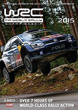 World Rally Championship 2015 Review 2 Disc DVD Reino Unido ...