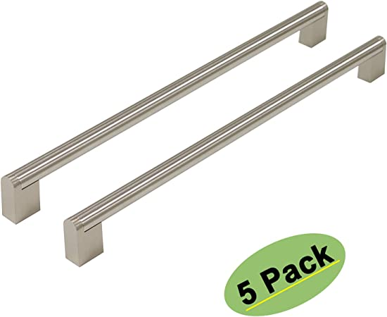Bar Handle Drawer Pulls for Kitchen Cabinets 5 Inch Centers