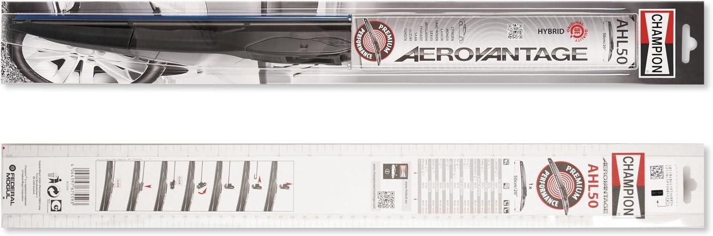 Set de 2 Champion AHL60//B01 Aerovantage Balai Hybride 60 cm