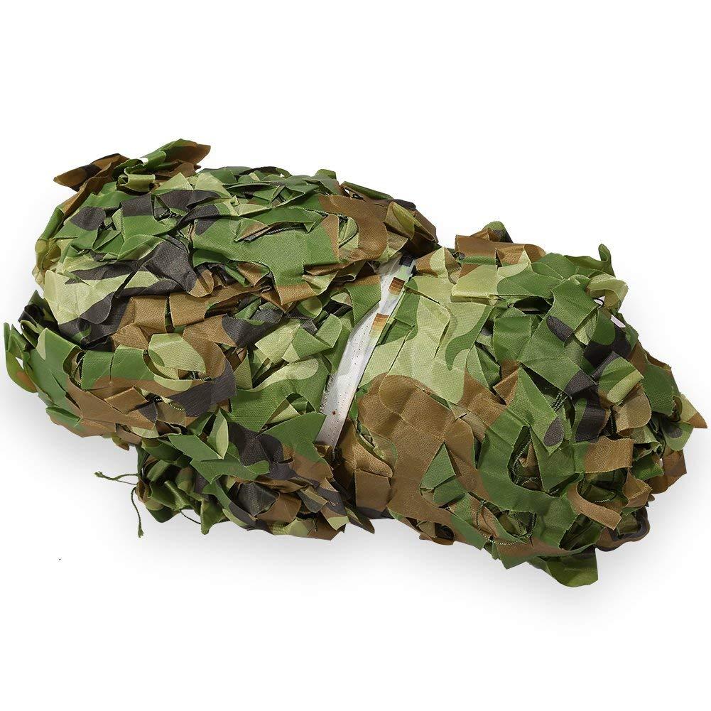 6 × 10M  Qifengshop Filet de Camouflage en Tissu Oxford Capuchon de Camouflage pour la Chasse au Camping
