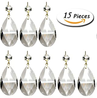 Amazon highrock teardrop chandelier crystal pack of 10 cell aiskaer 15 pieces clear teardrop crystal chandelier gold pinningangel tears mozeypictures Gallery