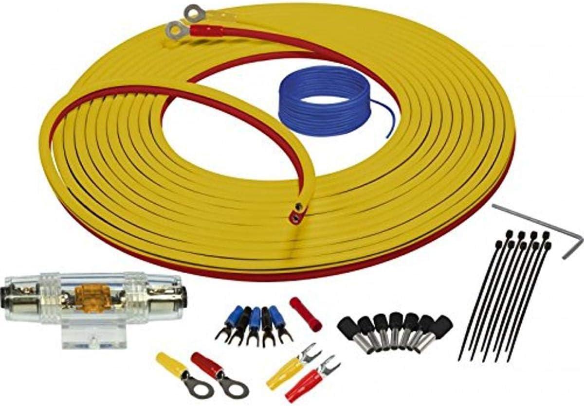 Amazon.com: Stinger SEA4287 Marine Complete Amplifier Installation Kit  7-Meters of 8 Gauge Power + GroundAmazon.com