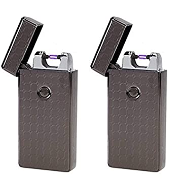 Saberlight 2 Pack - Rechargeable Flameless Plasma Beam Lighter - Electric  Lighter - Plasma Lighter -