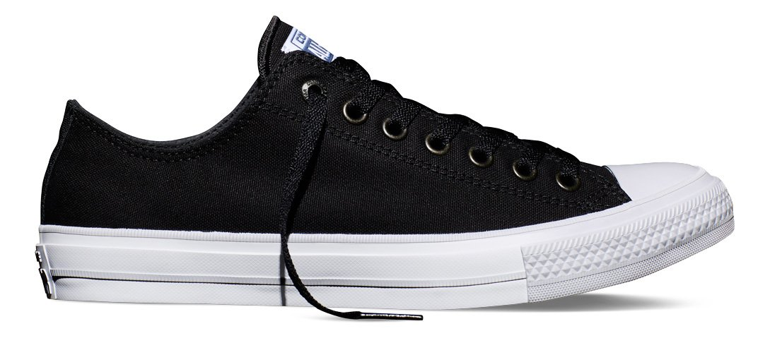 2d0e9031dfdb Converse Chuck Taylor II All Star Ox Lo Sneaker Black White (10.5 B(M) US  Women 8.5 D(M) US Men)