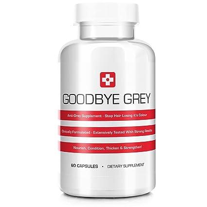 Goodbye Grey Anti Grey Hair Formula - 60 Capsules by Goodbye Grey ... ed4ae7057117