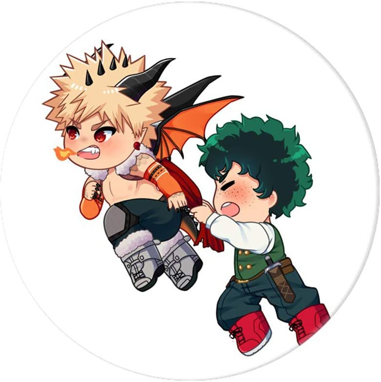 WerNerk Anime My Hero Academia Cosplay Badge Cartoon Boku no Hero Academia Brooch Pins Izuku Collection Bags Button Badges for Backpacks
