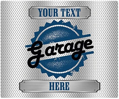 Drymate Personalized Garage Floor Mat, Door Mat, 24 x 29
