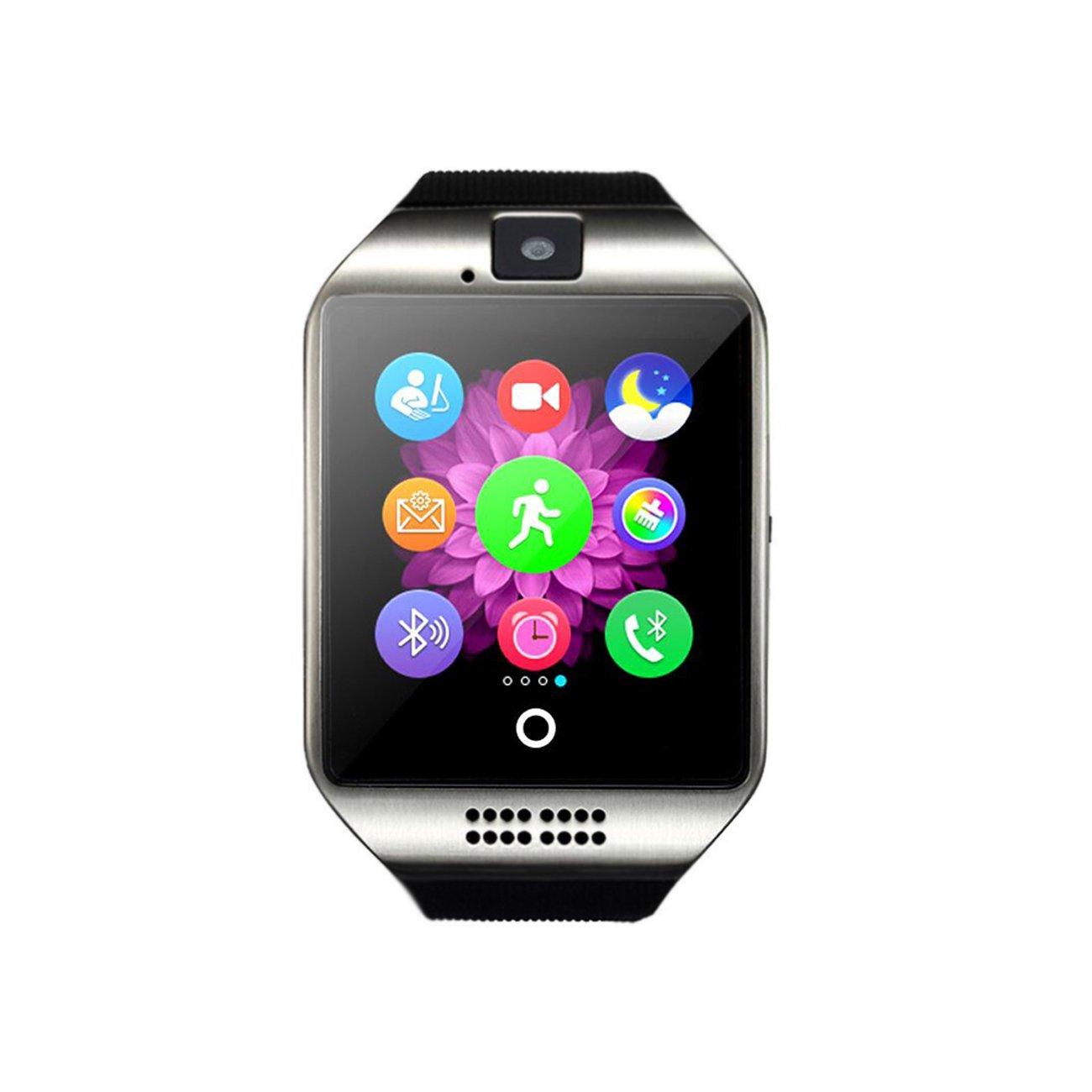 Amazon.com: Bluetooth Smart Watch Q18, Touch Screen ...