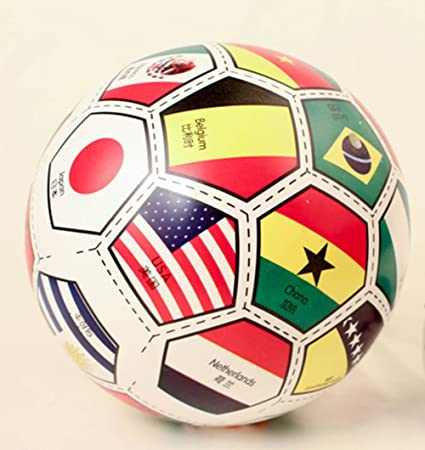 3ed2c171b4d7 Amazon.com  Kids Ball - Bouncing National Flag Ball Toys for Boys ...
