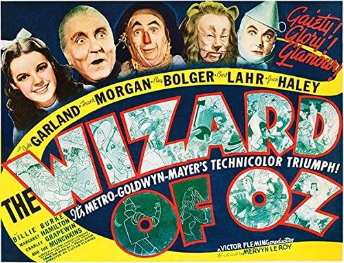 Amazon.com: The Wizard of Oz - 1939 - Movie Poster: Posters & Prints