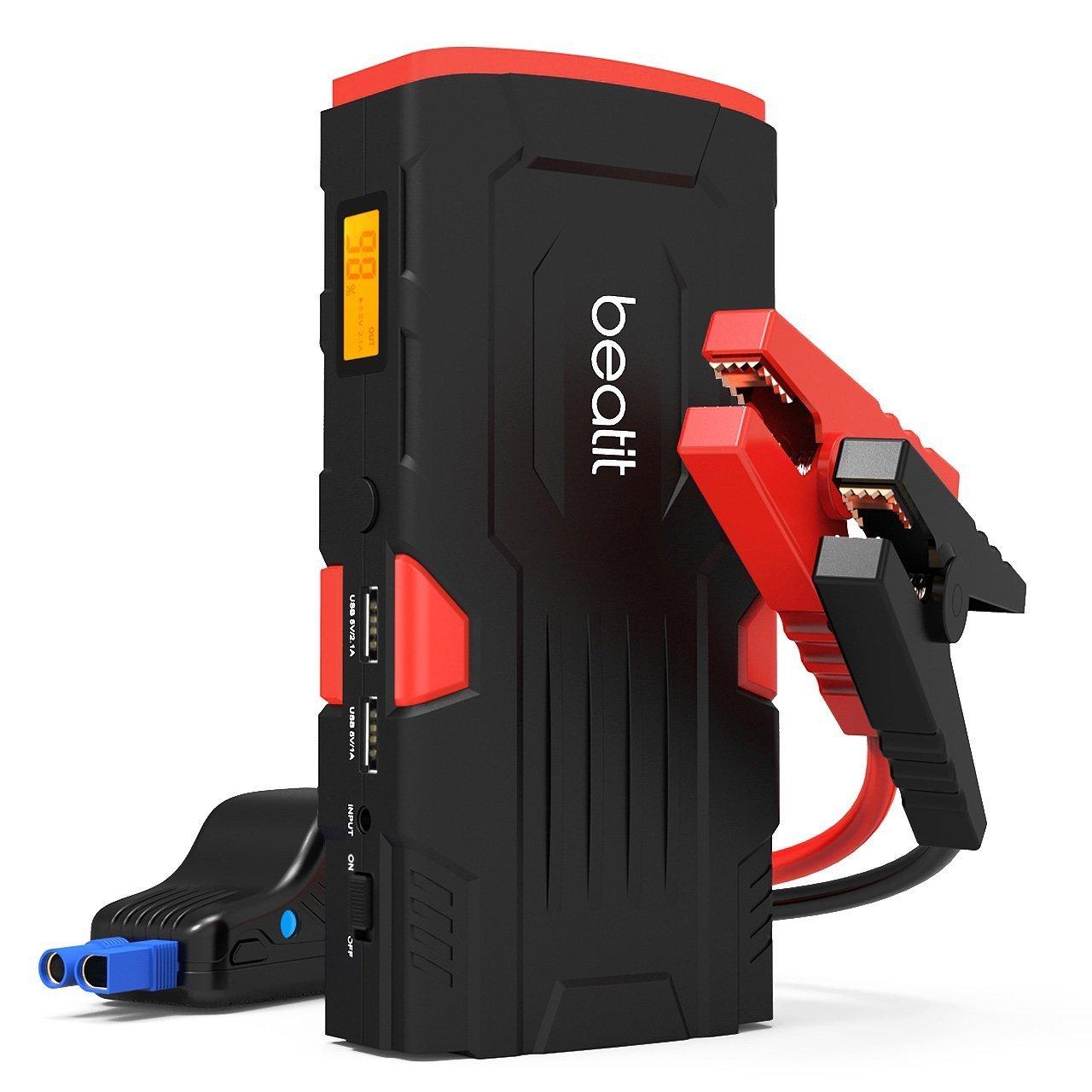 Beatit A Peak mAh Arrancador de baterías Arrancador de coche Con cables