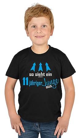 Kinder T Shirt So Sieht Ein 11 Jähriger Junge Aus Kinder Geburtstag