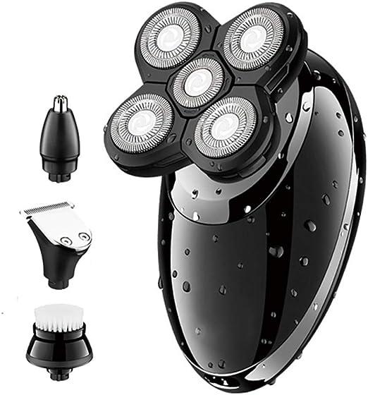Maquinilla de Afeitar eléctrica para Hombres, Cuidado Facial ...