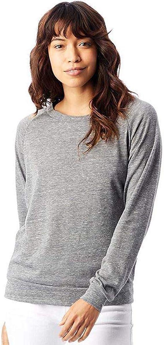 Alternative Apparel WomensLadies Eco Jersey Slouchy Pullover
