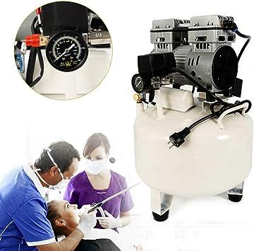 DiLiBee - Compresor de aire sin aceite, 35 L, para aspirador de ...