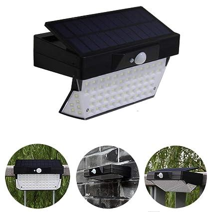 Luz Solar para Jardín, Portátil LED Al Aire Libre A Prueba De Agua Gran Angular