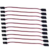 NEEWER® 10Pcs 150mm Servo Extension Lead Wire Cable For Futaba JR
