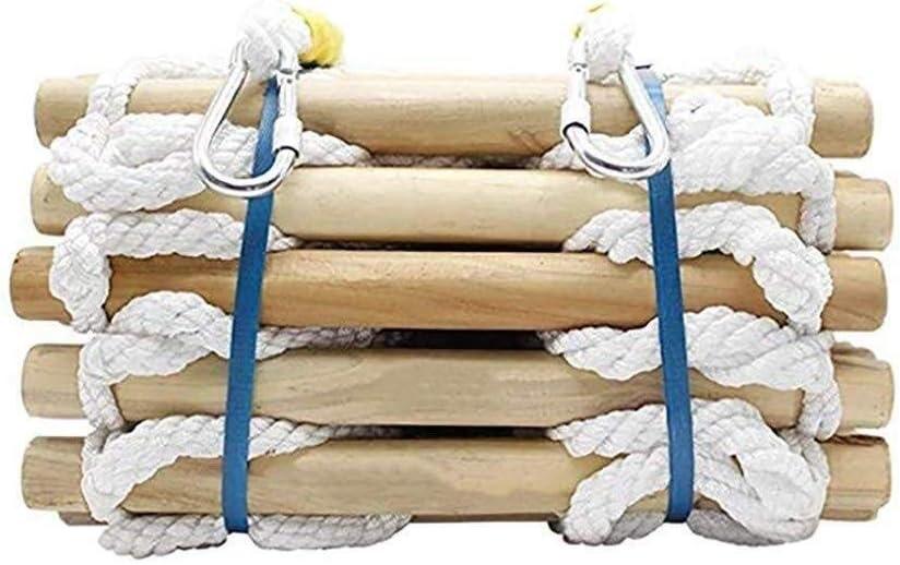 Escalera de incendio Escalera de 2-10 Story Building, Llama de emergencia de seguridad resistente escalera de cuerda con ganchos de alta Escalada antideslizante Escalera de cuerda aérea Escalera Traba: Amazon.es: Hogar