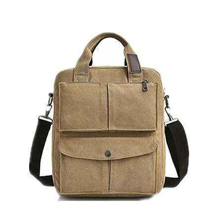 af05e5e1d Amazon.com: Ybriefbag Casual Satchel Working Bag Bookbag Small ...
